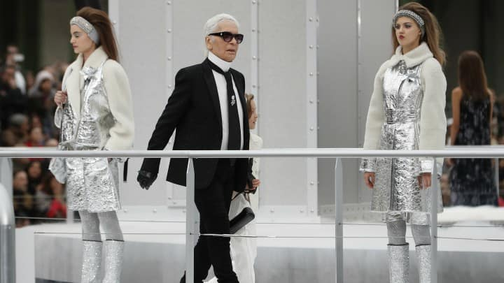 Karl Lagerfield contra Me too